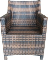 total furnishing Cane Outdoor Chair(Finish Color - multi)