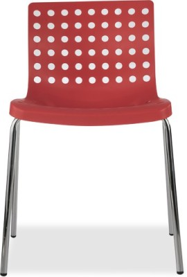 Durian ZACK-RED Synthetic Fiber Outdoor Chair(Finish Color - Red)