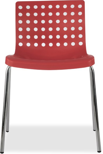 View Durian ZACK-RED Synthetic Fiber Outdoor Chair(Finish Color - Red) Price Online(Durian)