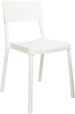 Cello Furniture Plastic Cafeteria Chair(Finish Color - White)