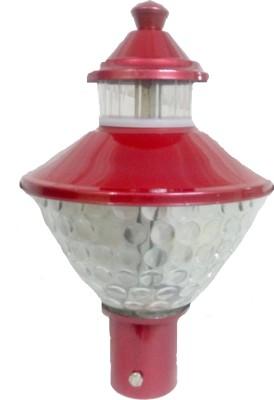 Micron Jupiter Red Metallic Gate Night Lamp