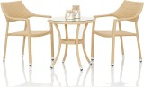 Studio F Beige Synthetic Fiber Table & C...