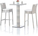Studio F Grey Synthetic Fiber Table & Ch...