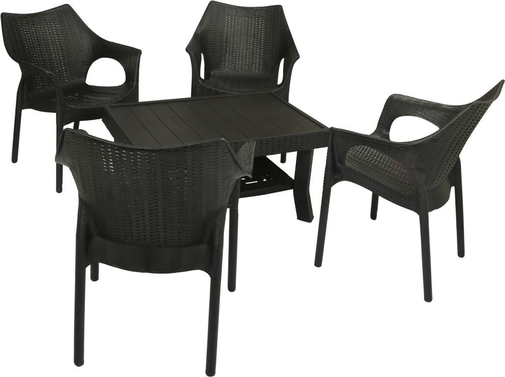 Supreme Furniture Price List Black Plastic Table