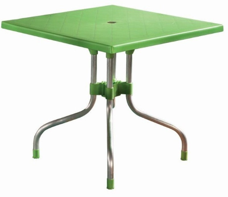 Mavi Plastic Cafeteria Table(Finish Color - Green)