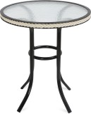 @home by Nilkamal Metal Outdoor Table (F...