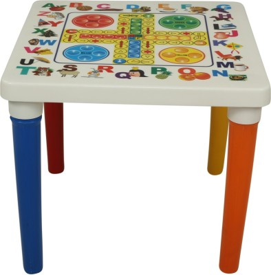 Supreme Bubble Plastic Outdoor Table(Finish Color - Multi Color)