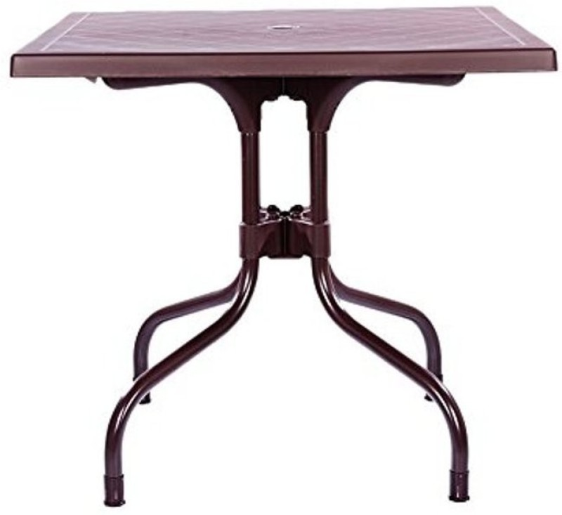 Mavi Plastic Cafeteria Table(Finish Color - Brown)
