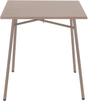 @home by Nilkamal Berry Metal Outdoor Table(Finish Color - Grey)