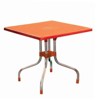 Mavi Plastic Cafeteria Table(Finish Color - Orange)