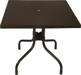 Supreme Olive Plastic Outdoor Table (Fin...