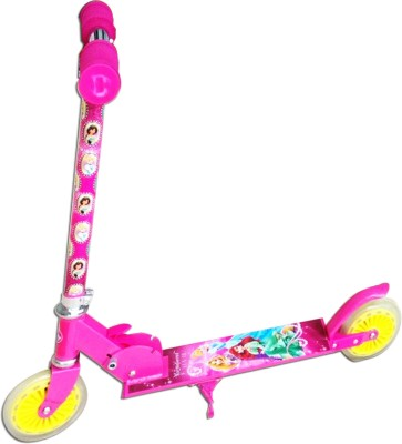 Excel Innovators Two Wheeler Scooter Disney Princess with Lighting