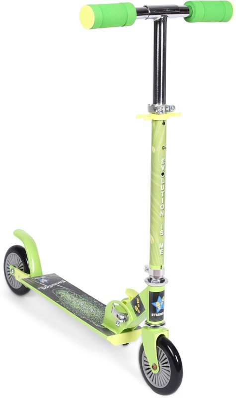 Starwalk Two wheel scooter (Horse) Green & black Colour(Green, Black)