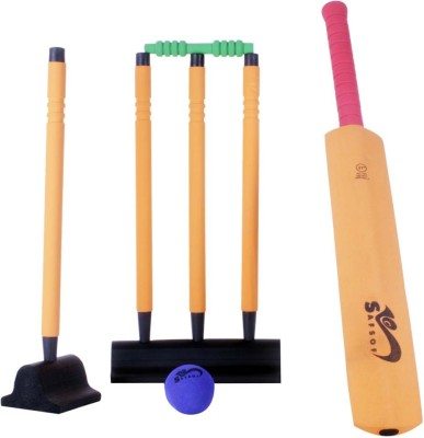 Safsof 27 Inches Rubber Foam Cricket Set In Bag