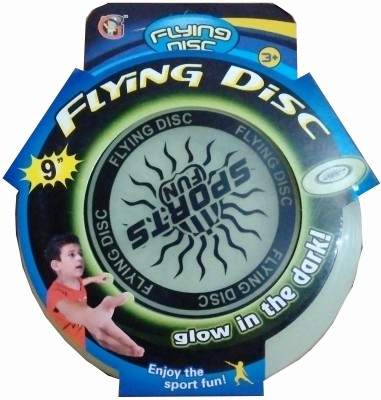 Shop & Shoppee Flying Disc - Glow in the dark