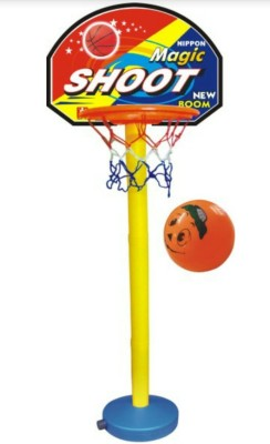 Nippon Basket Ball Plastic Set