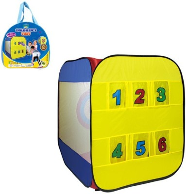 Toys Bhoomi Number's Play Tent - 100% Safe Polyester Fabric