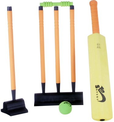 Safsof 24 Inches Rubber Foam Cricket Set In Bag