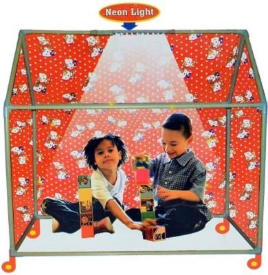 Ekta Shivalik's Global Play Tent House (With Wheels & Led Lights)