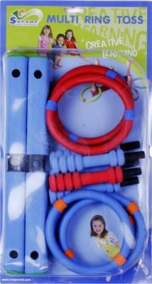 Safsof Small Multi Ring Toss - Blue