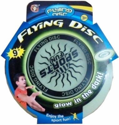 Turban Toys Flying Disc - Glow in the dark