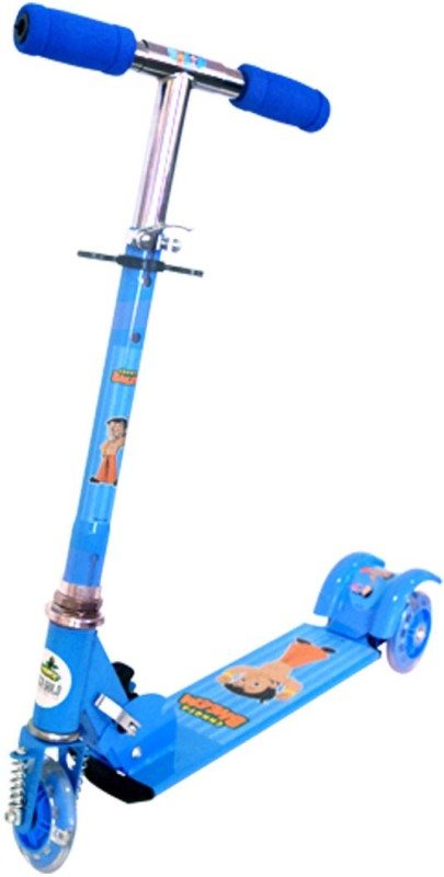 Chhota Bheem 3 Wheel Scooter Blue 5+ Years Tricycle(Blue)