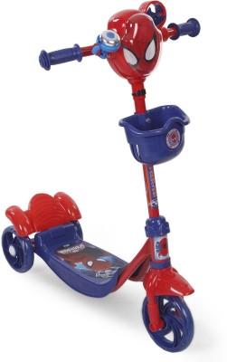 Spiderman Three Wheel Scooter