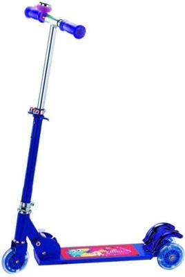 A R ENTERPRISES 3 WHEEL FOLDABLE SCOOTER-BLUE