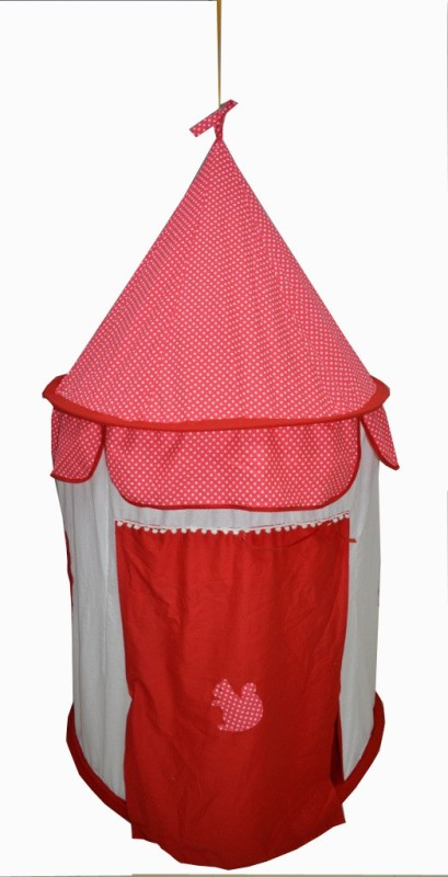 Creative Textiles Play Tent Hanging(Red)