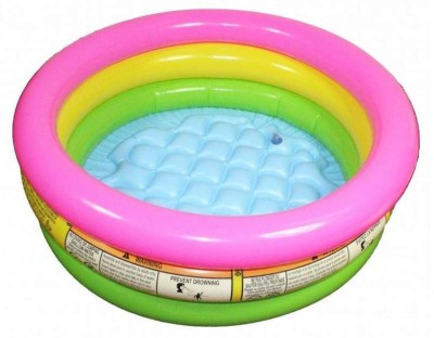 99DOTCOM Inflatable intex pool 3 ft diameter (mix) Bath Toy