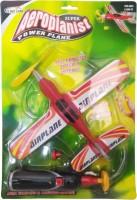 Kidzone Aeroplanist Aeroplane(Red)