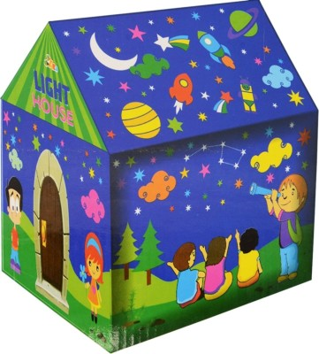 Awals Creations Playing LED Tent House