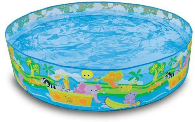 Turban Toys Intex 4 Feet Swimming Pool For Kids(Multicolor)
