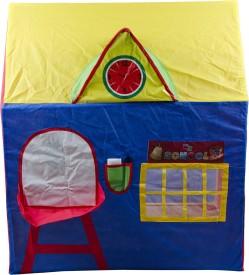 AyaanToys My School Tent House(Blue, Yellow)