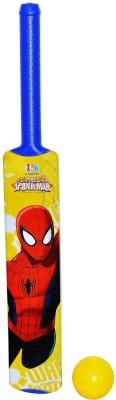 Disney Marvel Ultimate Spiderman Blue Color Plastic Bat And Ball Set - Senior