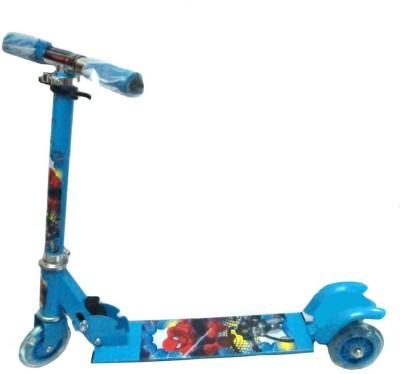 Playking 3 Wheel Kids Kick Scooter with LED Lights on Wheel