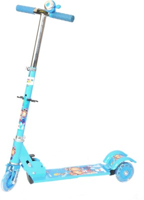 Happy Kids Foldable and Height Adjustable Scooter for Kids (Turbo)