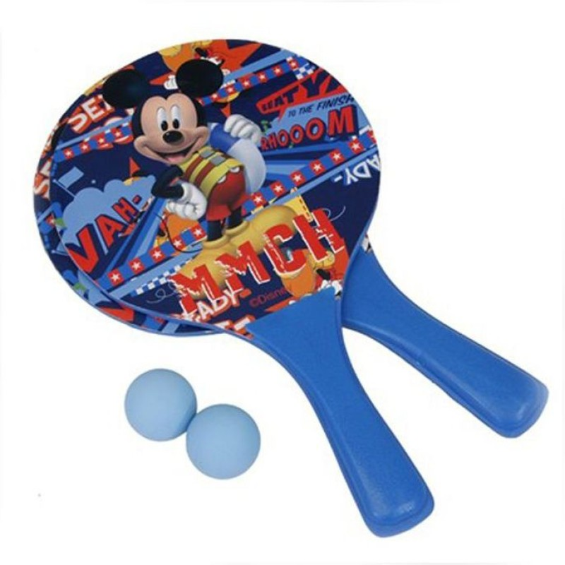 Disney MICKEY BEACH RACKET SET(Blue)
