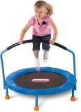 Little Tikes Trampoline (Blue, Black)