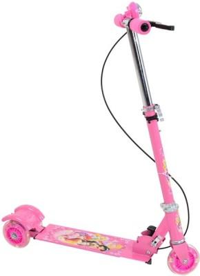A R ENTERPRISES 3 Wheel Foldable Scooter-Pink