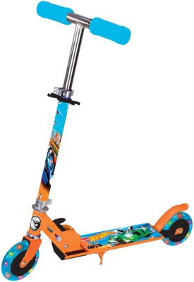 Hot Wheels hot wheel 2 wheel scooter with lights
