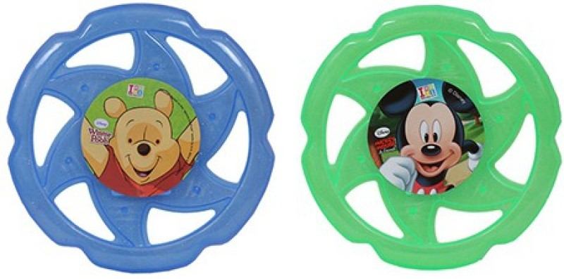 Disney Combo of Disney Mickey and Winnie the Pooh Flying Disc(Multicolor)
