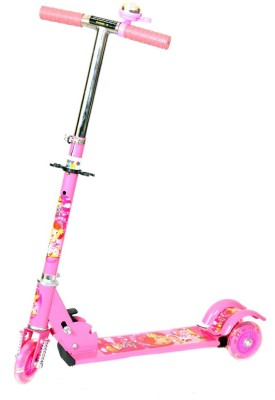 Naughty Kid 3 Wheel Bell Scooter With Shockers