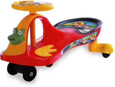 UAE 360 Magic Swing Car Yellow and Red