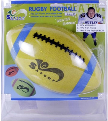 Safsof Rugby Ball - Yellow