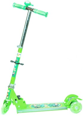 Intra Kids Foldable, Height Adjustable with wide-footboard Scooter for Kids
