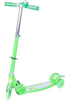 Happy Kids Foldable And Height Adjustable Scooter For Kids (Zoom)