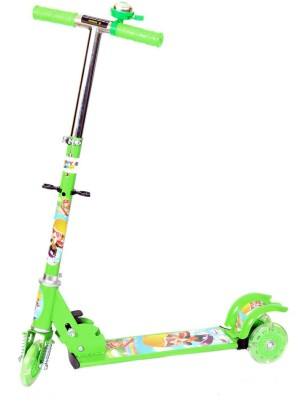 Naughty Kid Naughty 3 Wheel Bell Scooter With Shockers