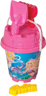 Barbie Round Castle Bucket Set