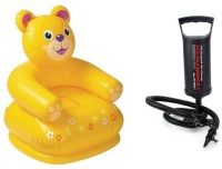 Flying Toyszer Teddy Kiddie Chair Inflatable Chair With Air Pump